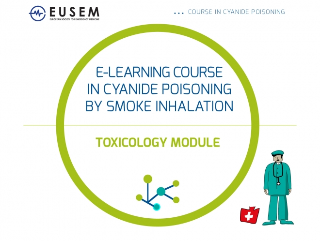 E-learning course in cyanide poisoning on the EUSEM Academy