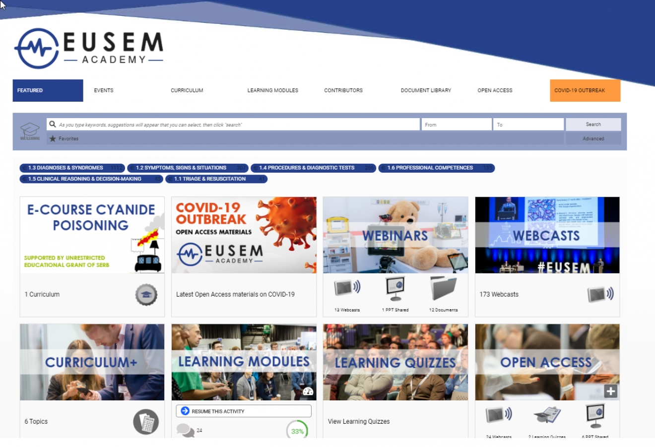 Help us keeping the EUSEM Academy up-to-date