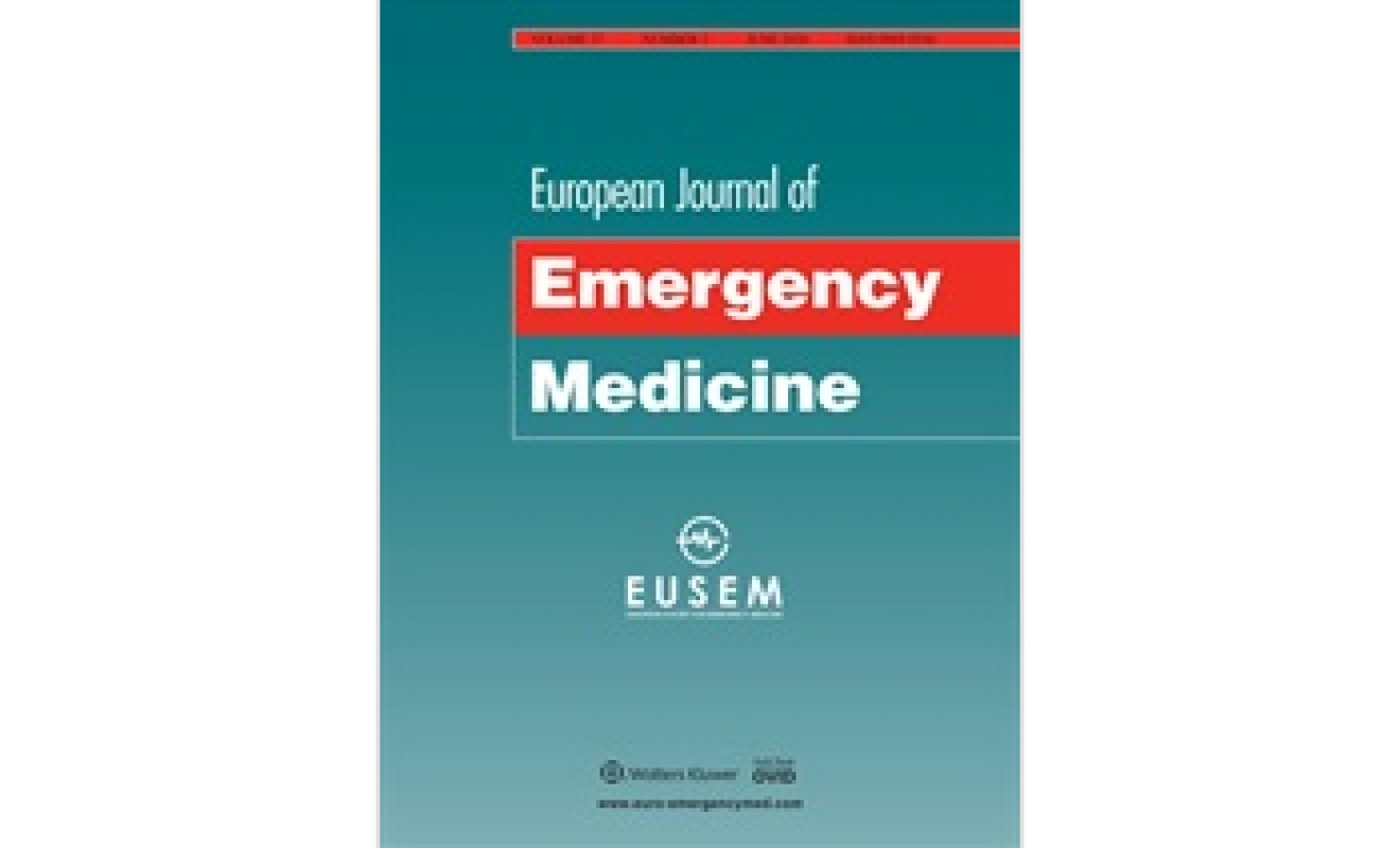 High impact factor for the European Journal of Emergency Medicine